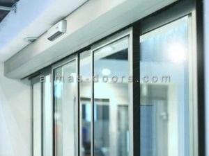 نصب و سیم کشی درب شیشه ای