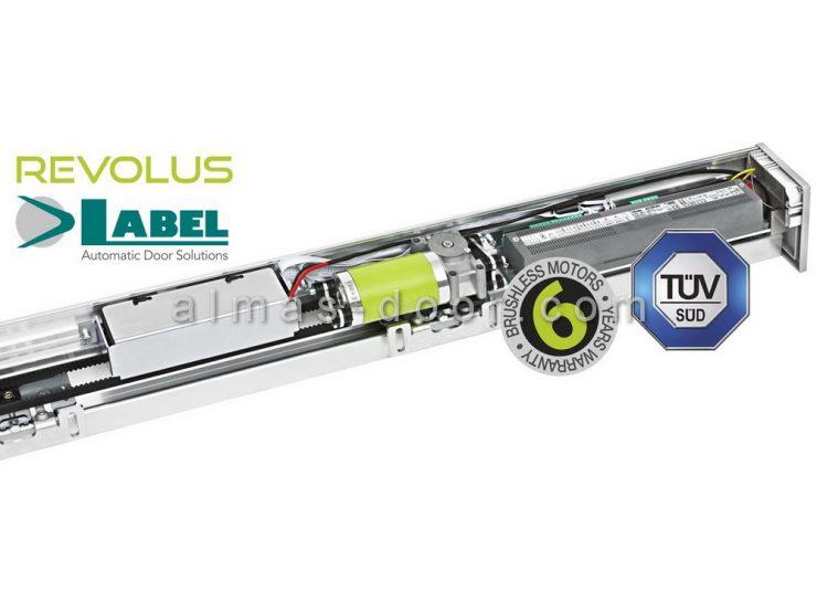 تعمیر برد و موتور درب اتوماتیک لابل Label