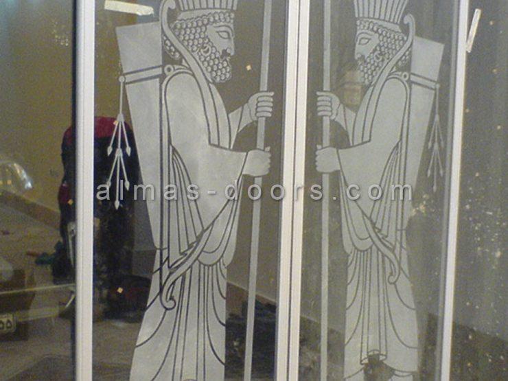 انواع شیشه درب اتوماتیک