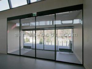 درب اتوماتیک شیشه ای پریما prima
